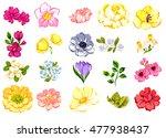 flower set | Shutterstock . vector #477938437