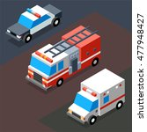 emergency transportation... | Shutterstock .eps vector #477948427