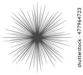 vector illustration of sunburst   Shutterstock .eps vector #477964723