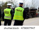 polish traffic police and... | Shutterstock . vector #478007947