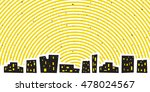 abstract night cityscape with...   Shutterstock .eps vector #478024567