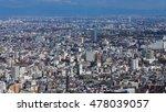 top view  tokyo residence area  ...   Shutterstock . vector #478039057
