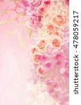 rose flowers in mulberry paper...   Shutterstock . vector #478059217