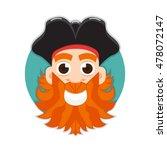 pirate logo | Shutterstock . vector #478072147