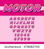 vector speed racing sport... | Shutterstock .eps vector #478082743