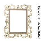vintage frame | Shutterstock . vector #478090537