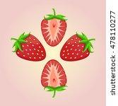 abstract vector icon... | Shutterstock .eps vector #478110277