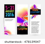 abstract template with... | Shutterstock .eps vector #478139047