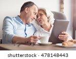 positive senior loving couple...   Shutterstock . vector #478148443