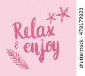 conceptual hand drawn phrase... | Shutterstock .eps vector #478179823