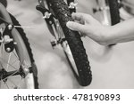 black and white image closeup... | Shutterstock . vector #478190893