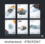 brochure template layout  cover ... | Shutterstock .eps vector #478192567