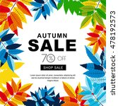 Autumn Sale Banners With...