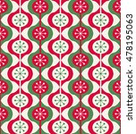 christmas ornaments seamless...   Shutterstock .eps vector #478195063