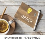 shipping logistic delivery... | Shutterstock . vector #478199827