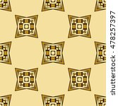 abstract geometric pattern of... | Shutterstock .eps vector #478257397