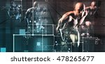 information security data as a... | Shutterstock . vector #478265677