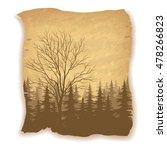 landscape  deciduous and... | Shutterstock .eps vector #478266823