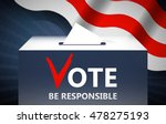 vote vector illustration....   Shutterstock .eps vector #478275193
