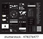 user interface kit white color... | Shutterstock .eps vector #478276477