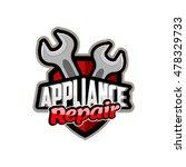 appliances repair  logo icon... | Shutterstock .eps vector #478329733