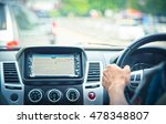 man driving a car  business man ... | Shutterstock . vector #478348807