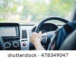 man driving a car  business man ... | Shutterstock . vector #478349047
