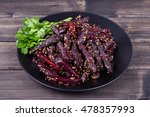 healthy homemade roasted... | Shutterstock . vector #478357993