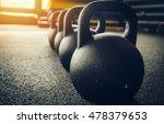 kettlebells   Shutterstock . vector #478379653