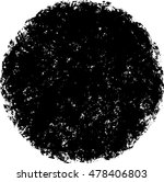 circle retro shape. black stamp.... | Shutterstock .eps vector #478406803