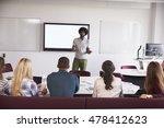 university students attending... | Shutterstock . vector #478412623