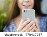 close up focus new modern dual... | Shutterstock . vector #478417057