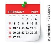 February 2017   Calendar....
