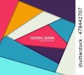 vector material design... | Shutterstock .eps vector #478442707