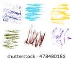 vector crayons hand drawing... | Shutterstock .eps vector #478480183