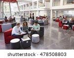 Students Sitting In University...