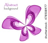 abstract background with purple ... | Shutterstock .eps vector #478508977