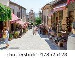 gradara  italy   2 july 2016 ... | Shutterstock . vector #478525123