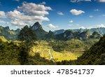 mountain pass | Shutterstock . vector #478541737