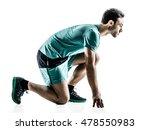 man runner jogger running ... | Shutterstock . vector #478550983