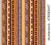 illustration orange  white and ... | Shutterstock . vector #478583647
