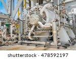 gas turbine compressor ... | Shutterstock . vector #478592197