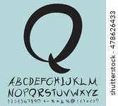 alphabet set design  vector...   Shutterstock .eps vector #478626433