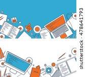 programming coding. flat... | Shutterstock . vector #478641793
