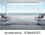 Living Room In Beach House ...