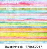 abstract  strip watercolor... | Shutterstock . vector #478660057