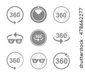 360 degrees view sign icon | Shutterstock .eps vector #478662277