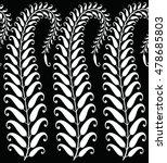 paisley indian motif | Shutterstock .eps vector #478685803