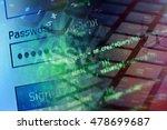 password. security concept. | Shutterstock . vector #478699687