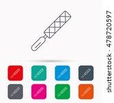 file tool icon. carpenter... | Shutterstock .eps vector #478720597